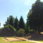 Terrain de pétanque au camping Le Bois de Rosoy