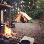 campement tente Indiana team building proche Paris