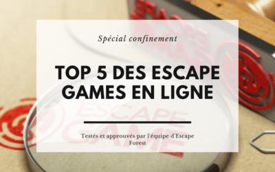 Top 5 des escape games en ligne pendant le confinement