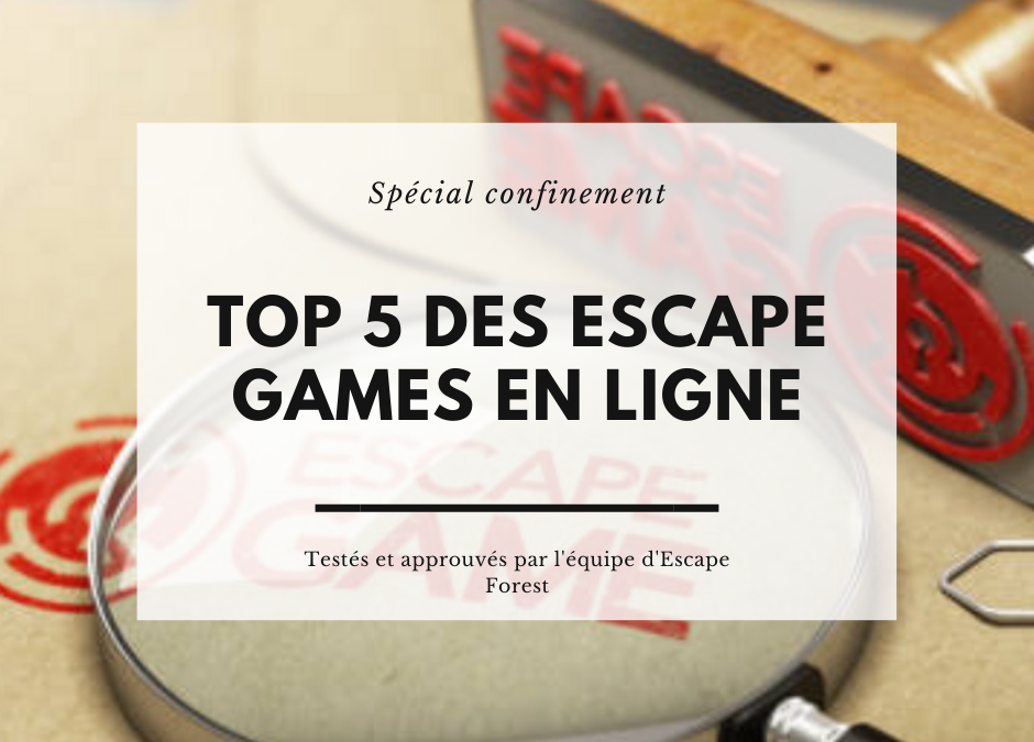 blog top 5 des escape games