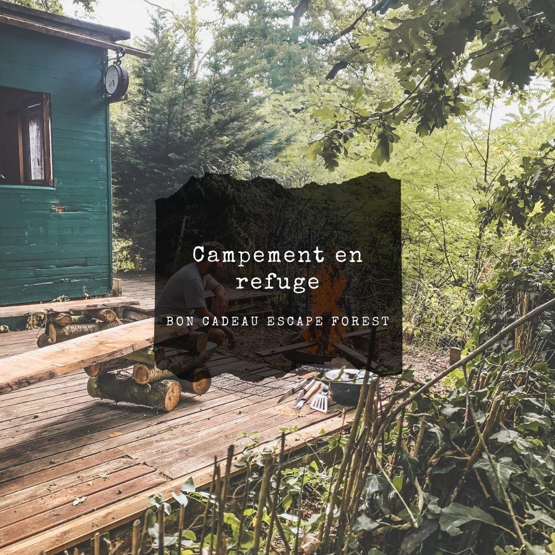 Bon cadeau Escape Forest escape game en refuge en foret