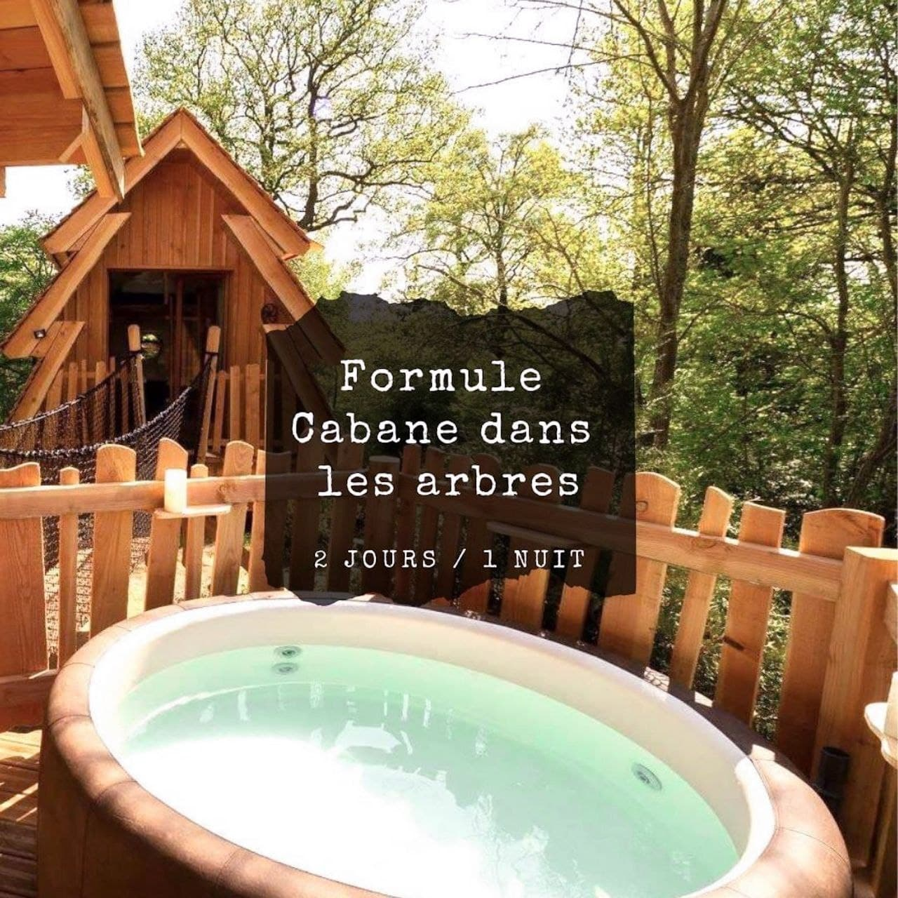 Séminaire en forêt cabane dans kes arbres proche Paris