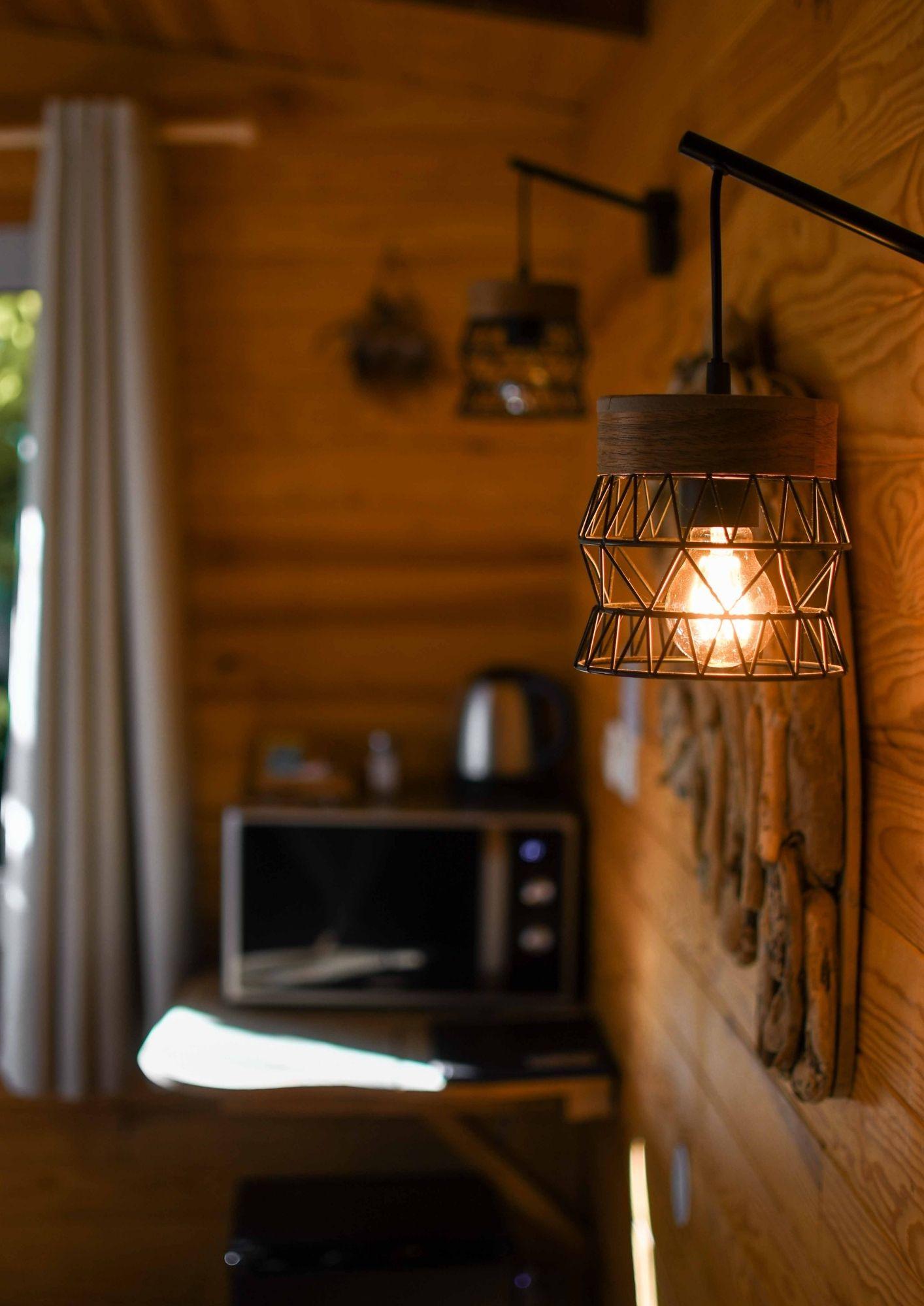 décoration cabane cosy dans les bois près de Paris