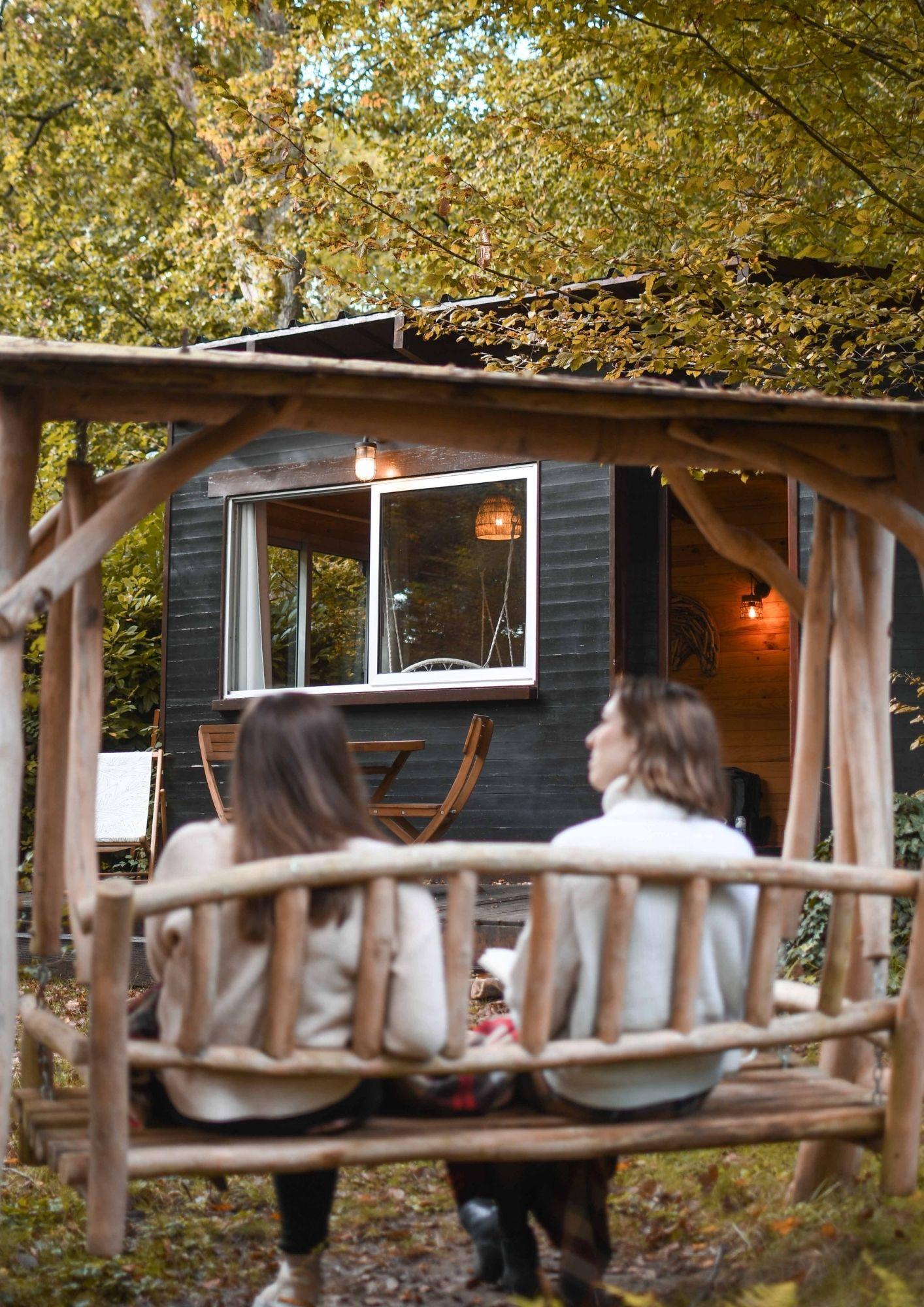 Cabane dans la bois cosy près de paris - automne