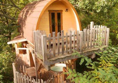 La Cabane spa «Le Chêne»