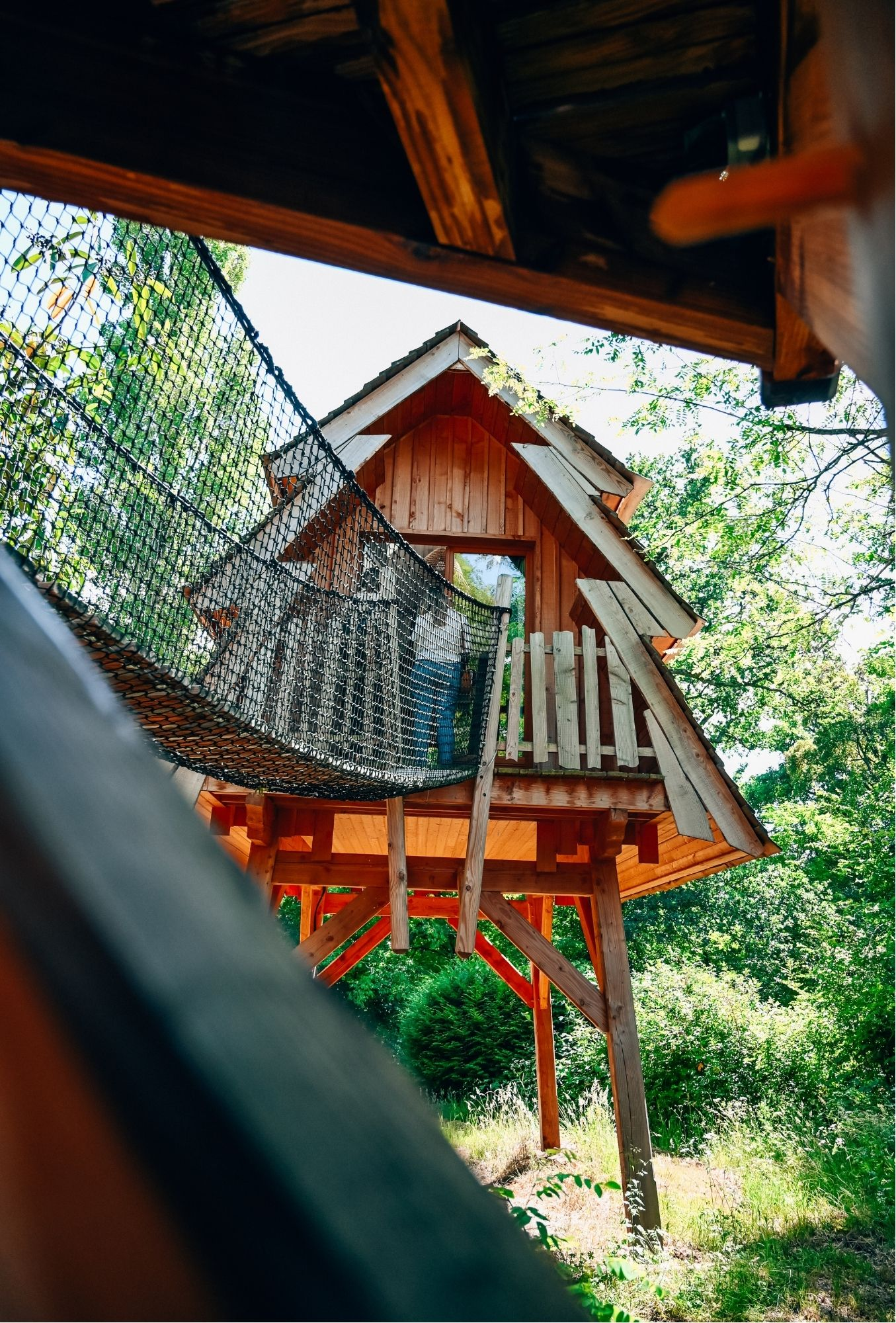 Wood cabin near Disneyland