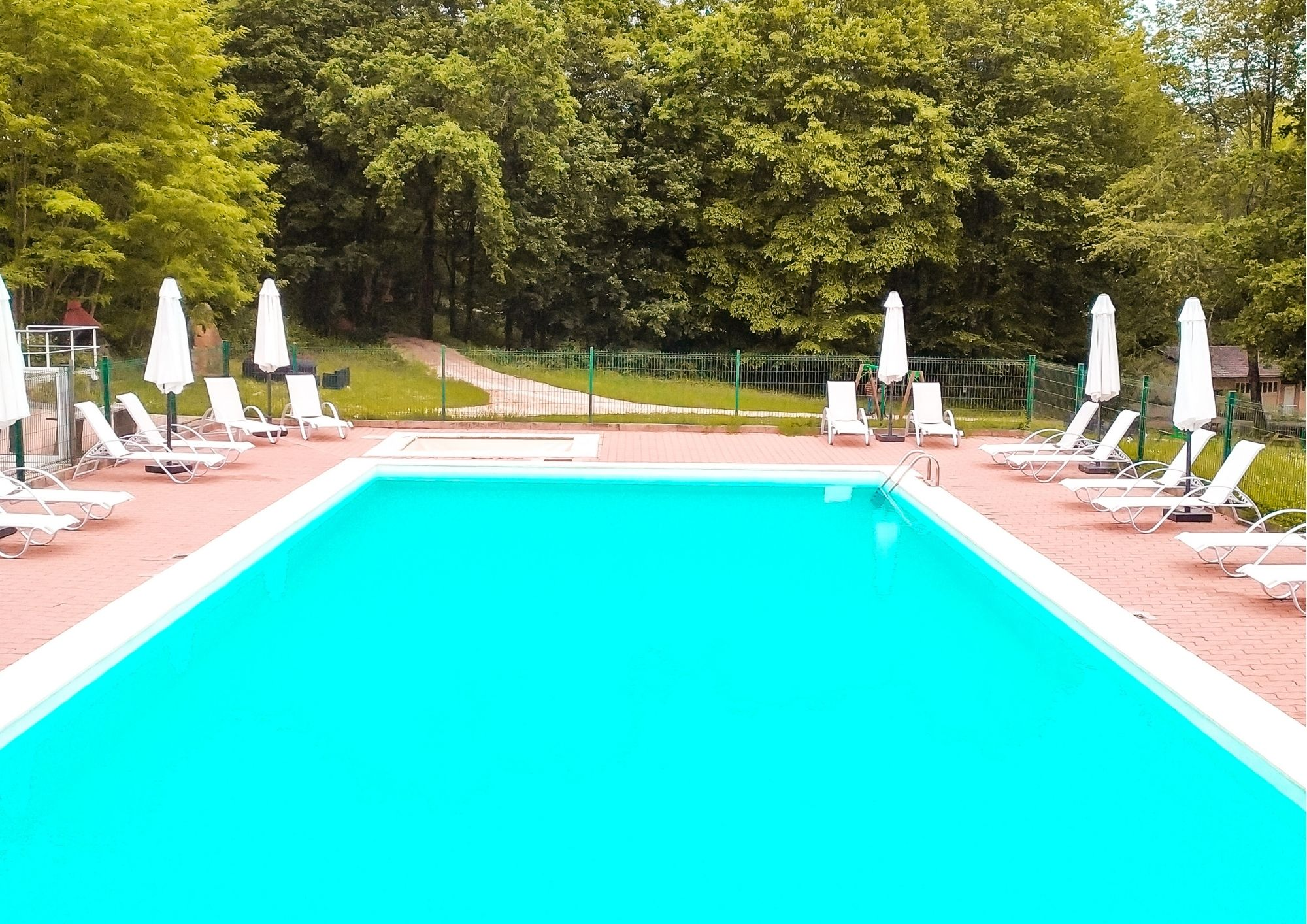 La piscine du domaine